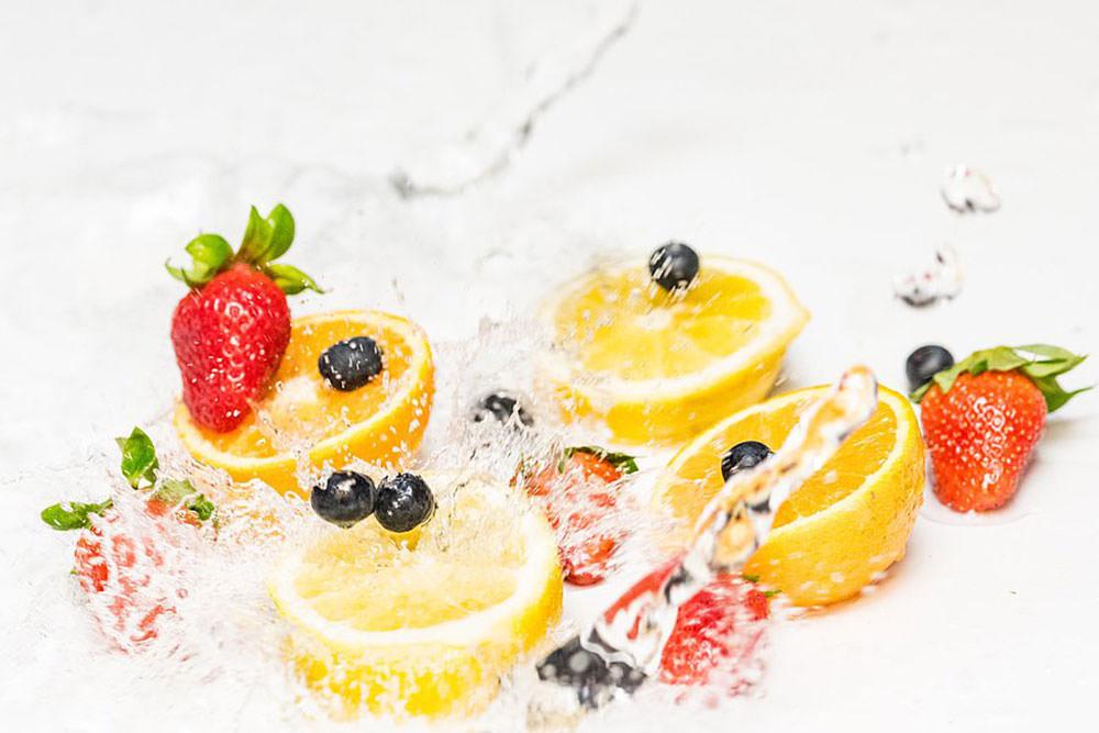 Fotografe frutas